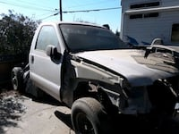 white ford f250 parting outsingle cab pickup truck Bakersfield, 93305