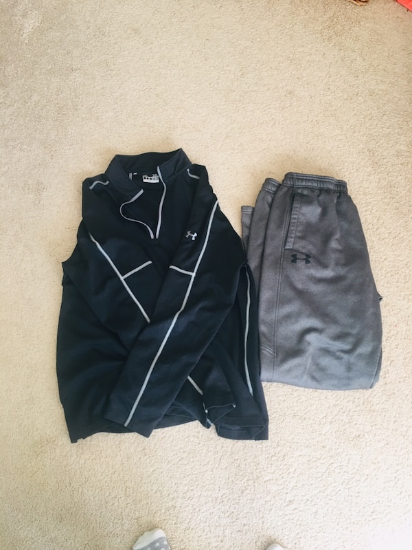 Under Armour XL Sweater & Sweat Pants . $10 each