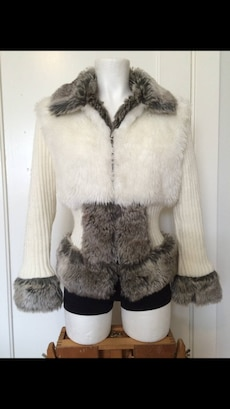 Fake fur Abercrombie and Fitch jakke