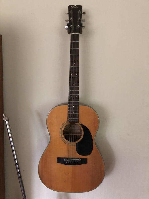 Fender acoustic perfect action