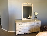 white wooden dresser with mirror Lake Elsinore, 92530