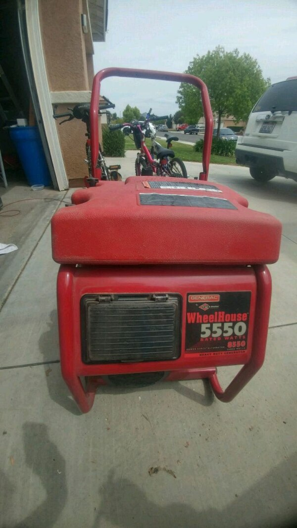 Generac Wheel House 5550 power generator