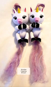 WowWee Fingerlings Baby Unicorn (Gigi) - $6 each  Toronto, M9B 6C4