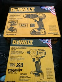 Dewalt compact drill driver kit with half-inch XR brushless impact