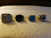 three assorted-color rings Cleveland, 44105