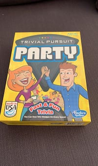 Board game - trivial pursuit party edition  Silver Spring, 20910