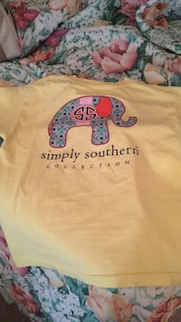 Youth large Simply Southern TShirt Conway