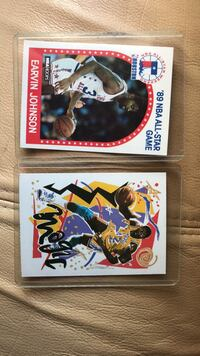 Two assorted Magic Johnson basketball trading cards Temple Hills, 20748