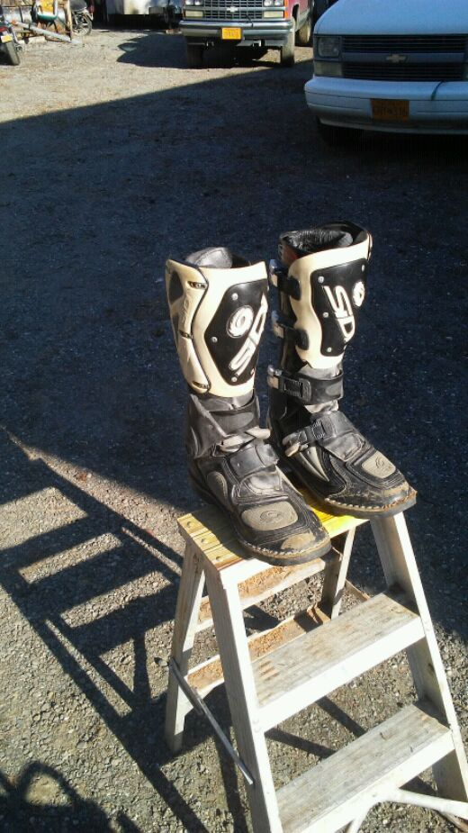 Photo SIDI FORCE FLEX Motocross Boots