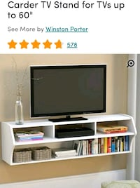 Negotiable..FloatingTv Stand. Brand New In Box! Baltimore, 21229