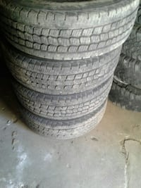 Tires new used it for less than a month