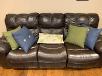 Sofa with recliners Rahway, 07065