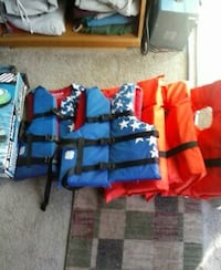 blue and orange life vests Branford, 06405