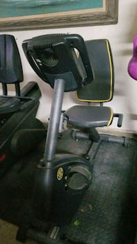 Exercise bike missing cord to plug it in.