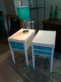 Wood end tables  Thousand Oaks, 91320