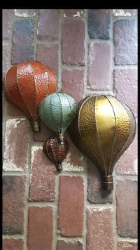 Hot Air Balloon Wall Decor