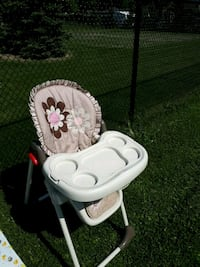 baby's white and gray high chair Richmond Hill