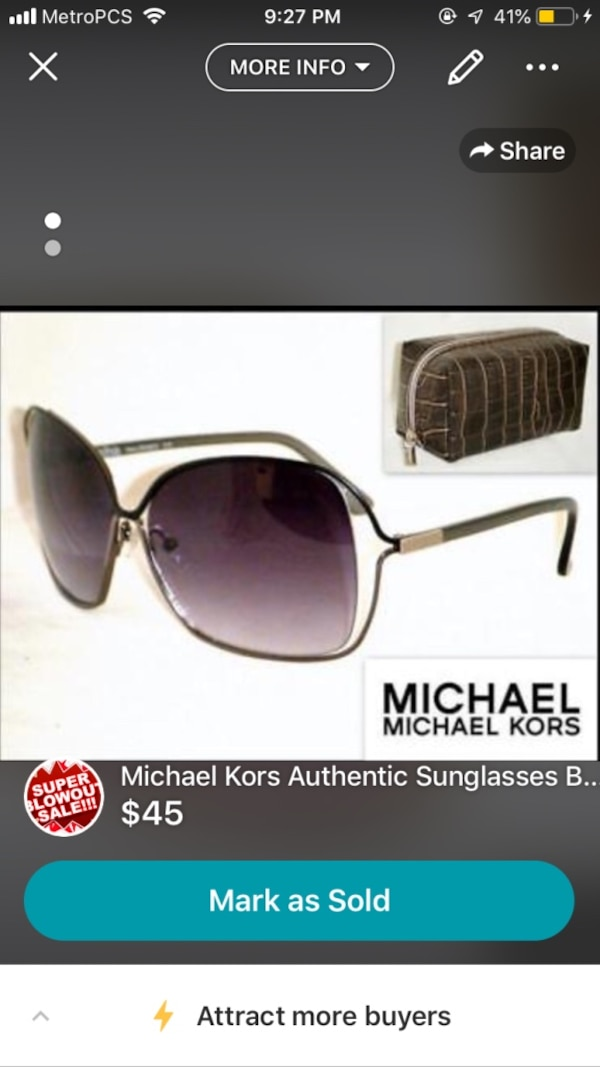 330c1df59b7c Used Authentic Michael Kors women's sunglasses for sale in Miami ...