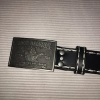 True religion belt 10/10 condition  Toronto, M6R 2P3