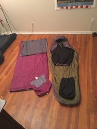 Adult Sleeping bags in perfect condition Springfield, 22151