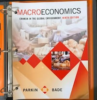 Macroeconomics (9th Edition) by Parkin Bade Toronto, M4P 2C6