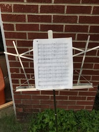 Portable music stand Springfield, 22150