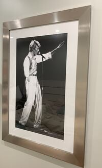 Framed David Bowie photo New York, 11216