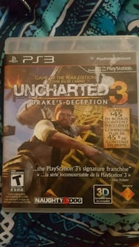 Uncharted 3 Drake's Deception PS3 game Queen Creek, 85142