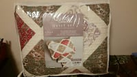 Brand new in bag king 100 percent cotton Quilt set Mississauga, L5R 3E5