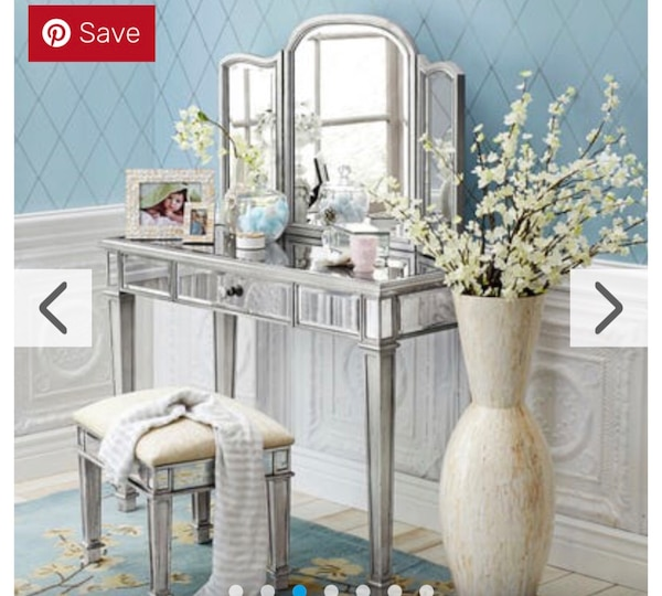 Excellent Pier 1 Imports Antique White Vanity With Mirror Caraccident5 Cool Chair Designs And Ideas Caraccident5Info