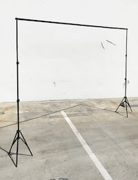 New $30 Adjustable 10Ft Backdrop Support Stand Photo Photography Background Crossbar Set South El Monte