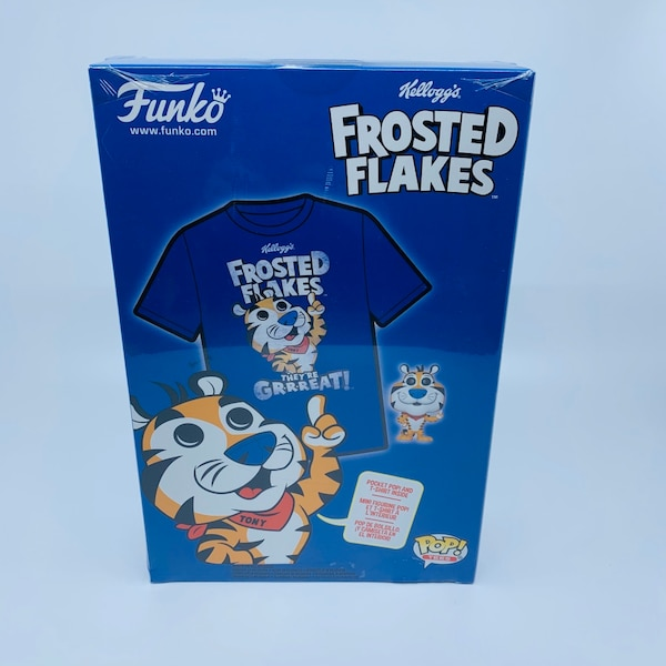 Funko Pop Tees - Frosted Flakes (includes mini figure and XL t-shirt) d9704827-498d-47e9-acef-43a60cce665a
