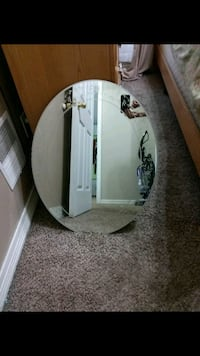 white and brown wooden framed mirror Detroit, 48209