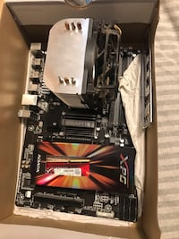 AMD FX6300 six core 4.0ghz with mother board and cooler  Toronto, M1M 1Z1