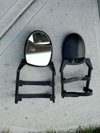 Adjustable Tow Mirrors.