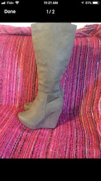 Platform wedge boots Welland, L3B 4K8