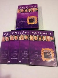 DVD 5 temporada de friends Cantillana, 41320