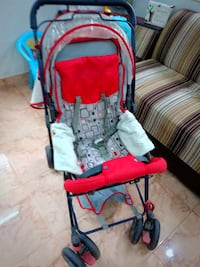 baby's red and blue stroller Bengaluru, 560085