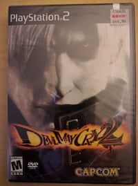 Devil May Cry 2 for the Sony Playstation 2.NEW Willowbrook, 60527