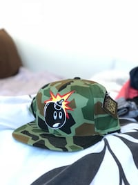 The Hundreds Camo Snapback Winnipeg, R3Y 0J9