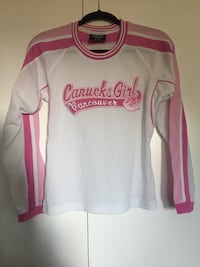 Canucks girl vancouver hockey jersey Xl Surrey, V4A 7R5
