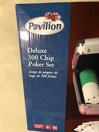 Poker Set 300 chip set - never used Olney, 20832