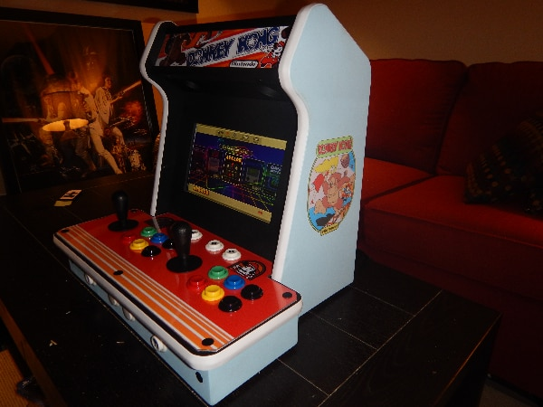 Retropie Arcade Cabinet w Happ/Cherry Controls Ready 2 Play