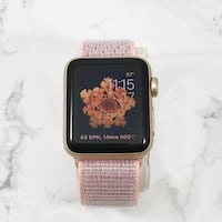 Apple Watch Series 2 38mm Gold Aluminum Case Pink Sand Loop GPS (MNNY2LL/A) WASHINGTON