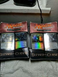Magic decks (25 each)