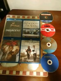 8 assorted blu-ray Disc for 30 Tulsa, 74136