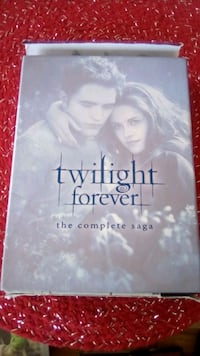 Complete twilight series..all 5 movies