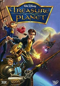 Treasure Planet DVD Bowie, 20715