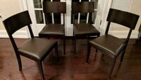 Set of 4 dining room chairs Jersey City, 07304