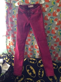 pink and white floral pants Greeneville, 37745